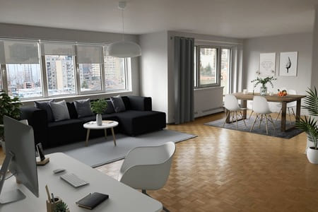 One bedroom apartments in montreal